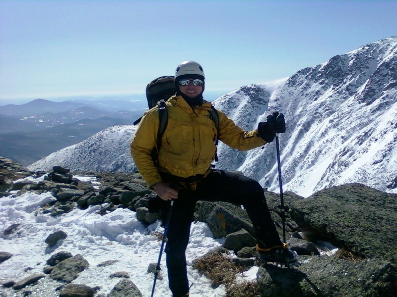 Rock Climbing Photo: Having fun in the mountains, Mount Washington, NH ...