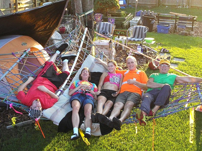 rope hammock holds up to 6