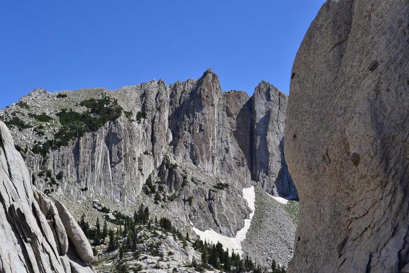 Rock Climbing Photo: Lone Peak