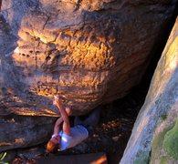 "Rock Climbing Photo: Brad on ""sky light"""