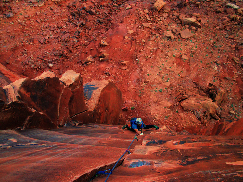 Rock Climbing Photo: Primrose Dihedrals Photo by Aerili