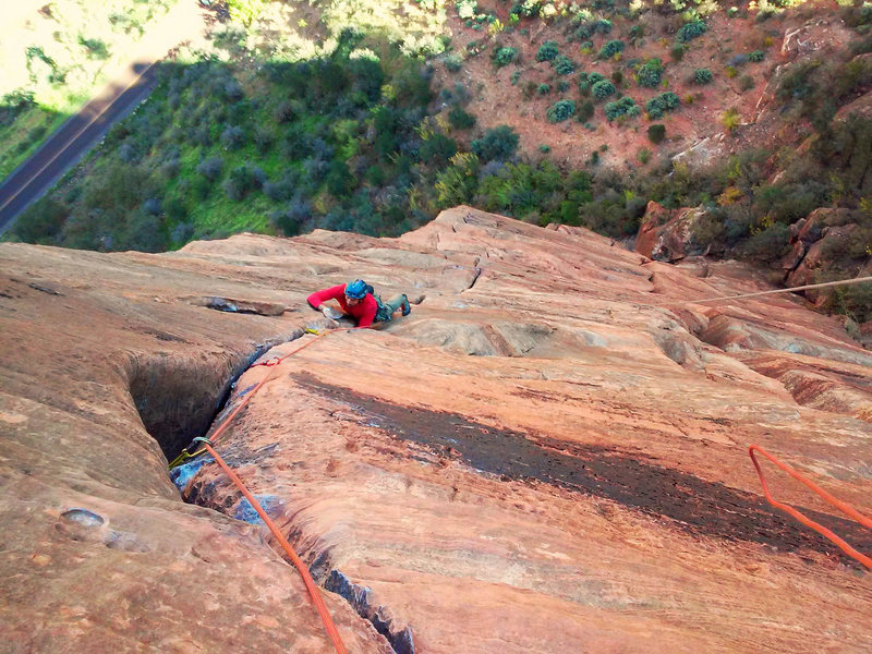 Rock Climbing Photo: The Headache