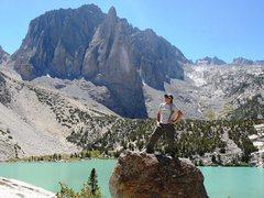 Rock Climbing Photo: Temple Crag, High Sierra's CA
