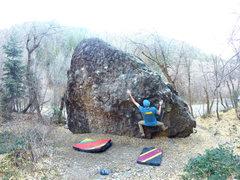 Rock Climbing Photo: First part