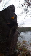 Rock Climbing Photo: Baker.