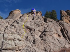 Rock Climbing Photo: Totem Tower P1.