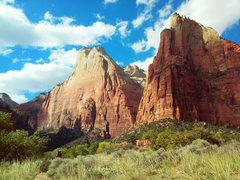 Rock Climbing Photo: Abraham And Isaac