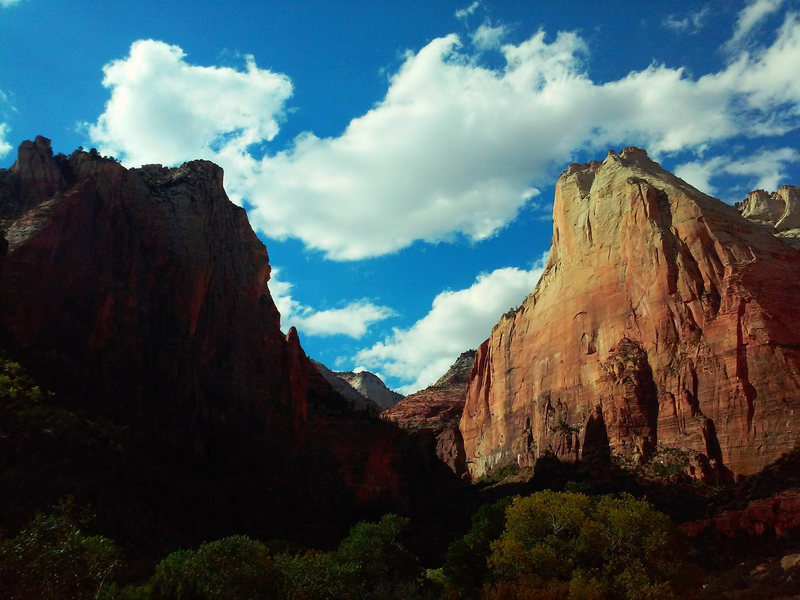 Zion National Park<br> Abraham