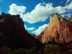 Rock Climbing Photo: Zion National Park Abraham