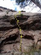 Rock Climbing Photo: Start of Beauty and the Beast.