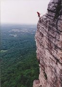 Rock Climbing Photo: Randy and Sheri Chalnick on The High Exposure 5.6 ...
