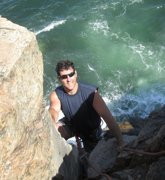 Rock Climbing Photo: OTTER CLIFFS ACADIA NATIONAL PARK