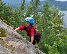 Rock Climbing Photo: ZACHARY CHALNICK AT 5 YEARS OLD CLIMBING SUMMIT SL...