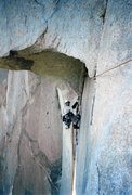 Rock Climbing Photo: My good friend Rich Rice having fun at the Great R...
