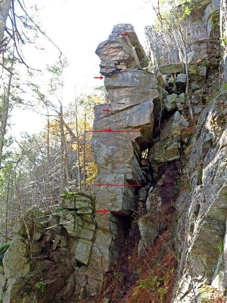 Rock Climbing Photo: La Mesa on gear