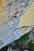 Rock Climbing Photo: Alex Q. on the send. October 2010.