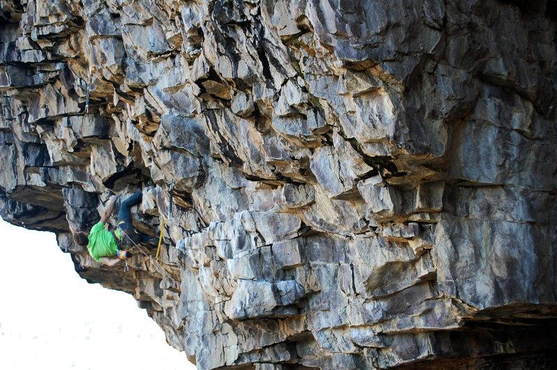 Rock Climbing Photo: Chalking up