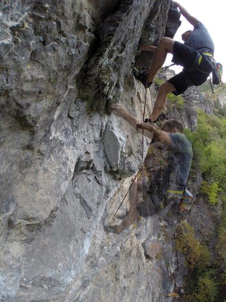 Rock Climbing Photo: Syllogism