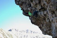 Rock Climbing Photo: Hookin it