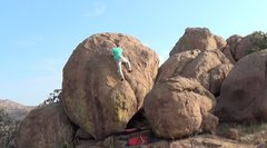 Rock Climbing Photo: micah adams surfin it up-