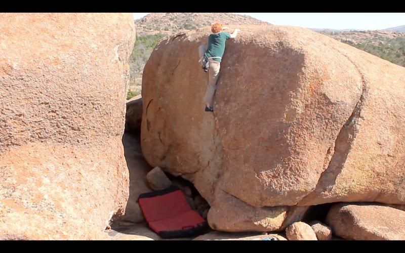 Rock Climbing Photo: the grinder-