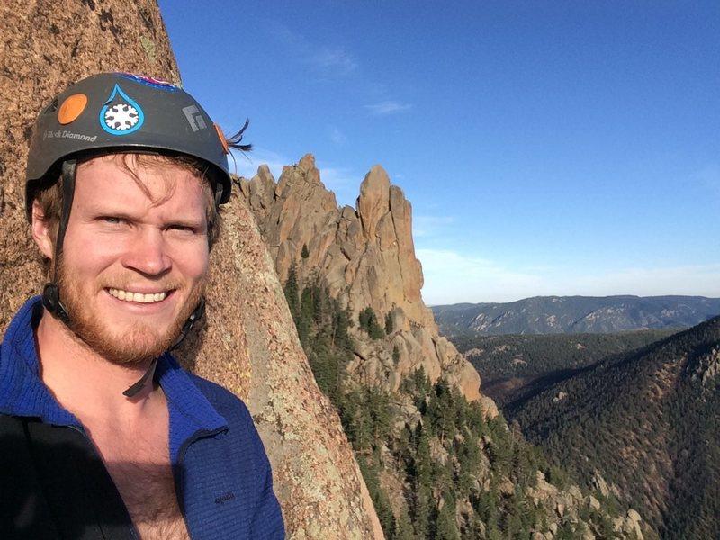 Rock Climbing Photo: Looking a Cynical Pinnical