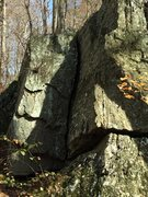 Rock Climbing Photo: Cool looking wide crack. Not positive but maybe on...