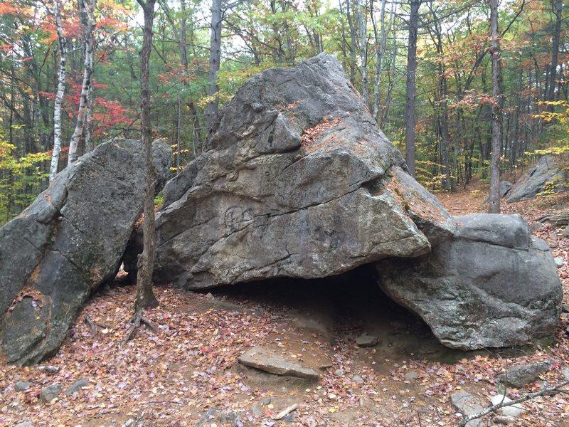 Jockey Cap Boulders