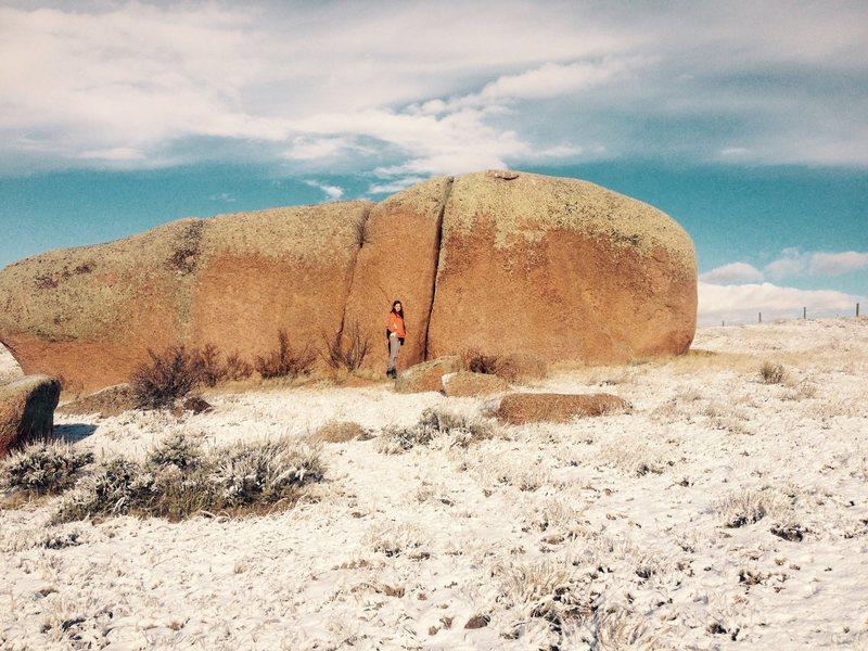 Rock Climbing Photo: Eastknee.