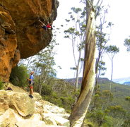Rock Climbing Photo: GoPro shot of Pallets of Pies