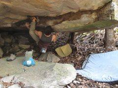 Rock Climbing Photo: Casablanca (V9FA) Wise County VA