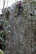 Rock Climbing Photo: Way of the Samurai (V3/4FA) Wise County VA