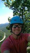 Rock Climbing Photo: Across the Universe(5.10b) 8 Pitches Mt. Willard. ...