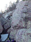 Rock Climbing Photo: Tonsillitis