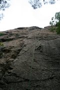 Rock Climbing Photo: Loved this 5.8. A lot of edging on this one.