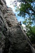 Rock Climbing Photo: Fun route.
