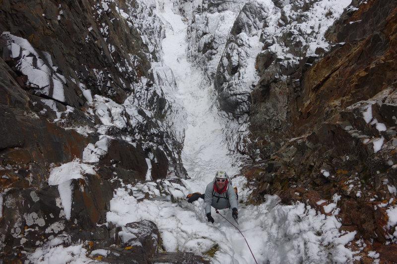 Rock Climbing Photo: Jaaron Mankins enjoying some early season goodness...