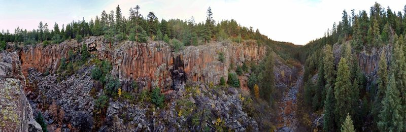 Rock Climbing Photo: Pano from the Prow