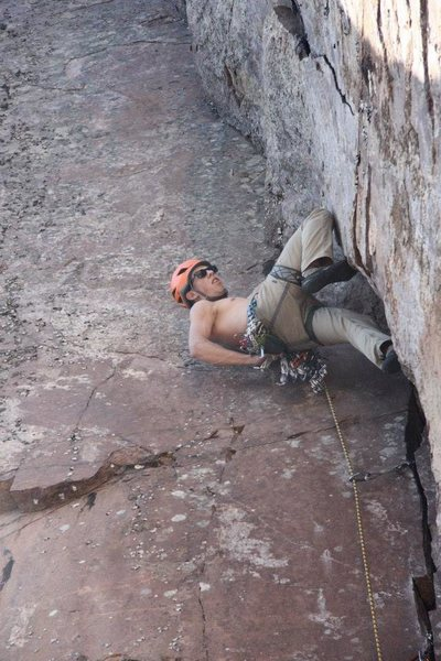 Rock Climbing Photo: Awesome mid section