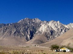 Rock Climbing Photo: Olancha Crags (aka Crystal Geyser Crags), Sierra E...