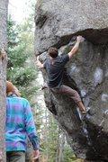 Rock Climbing Photo: The power endurance finish.