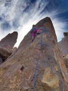 Rock Climbing Photo: at bolt #3