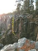 Rock Climbing Photo: Low resolution beta photo