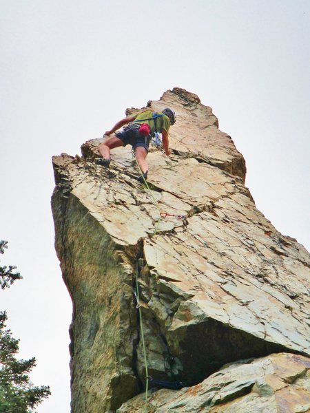 Rock Climbing Photo: Summit block of Hop Rising Point.