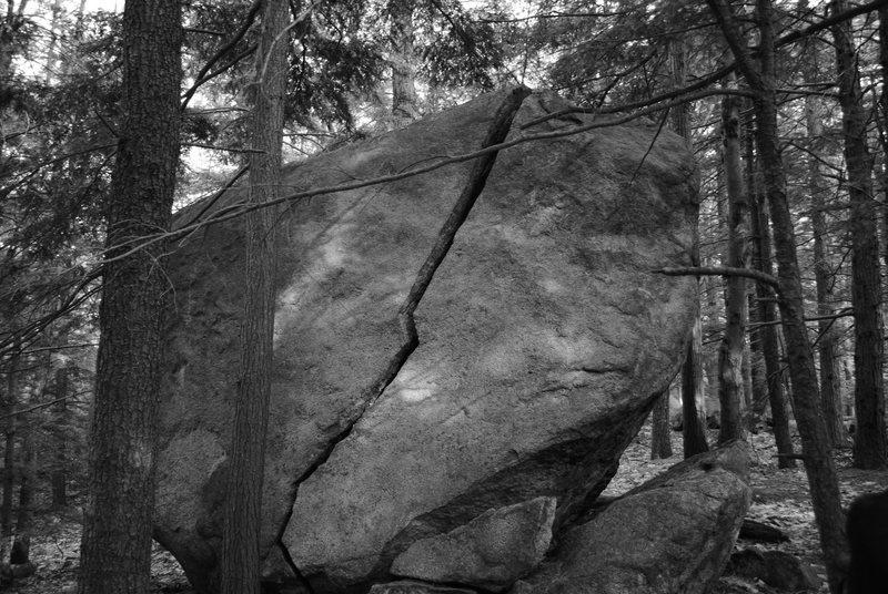 Rock Climbing Photo: crack