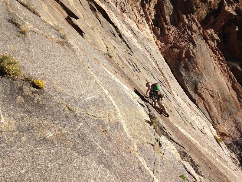 Rock Climbing Photo: Adrian on p2.