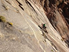 Rock Climbing Photo: Adrian on p2.