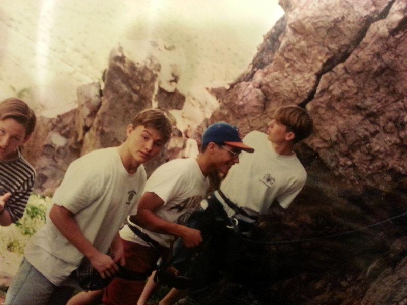 Rock Climbing Photo: QC boys at play