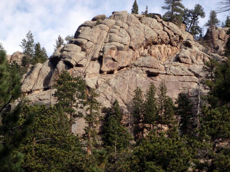 Rock Climbing Photo: West Crag.