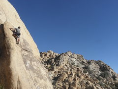 Rock Climbing Photo: Joey Booth leading S.O.C.